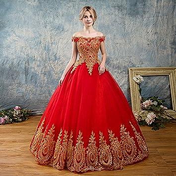 Abiti Da Sposa Cinesi.Yunding Abito Da Sposa Cinese Vestito Sexy Senza Spalline Rosso