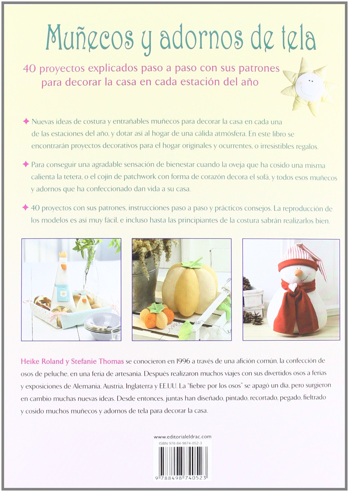 Munecos y adornos de tela / Dolls and Fabric Decorations: 40 ...