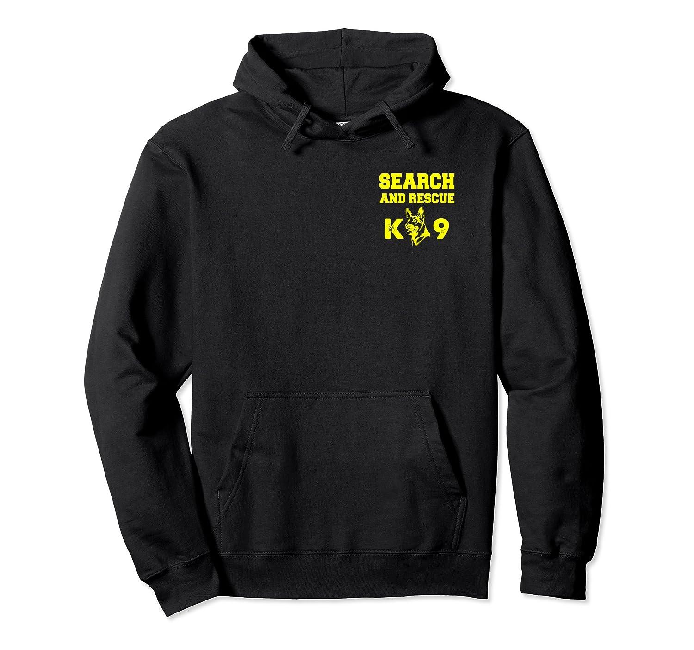 K9 Thin Orange Line Search & Rescue SAR K 9 Team Hoodie-Bawle
