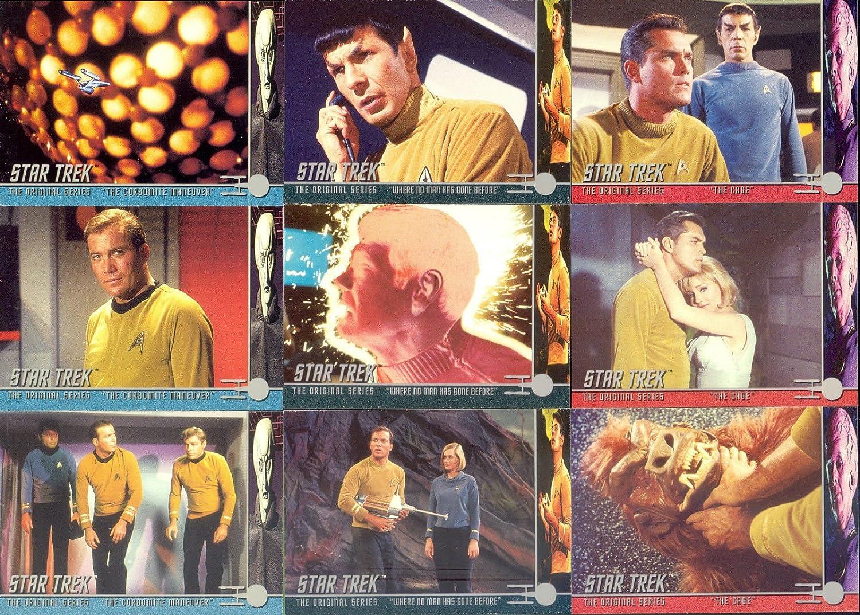 Star Trek TOS Archives /& Inscriptions Base Card #97 Variant 1