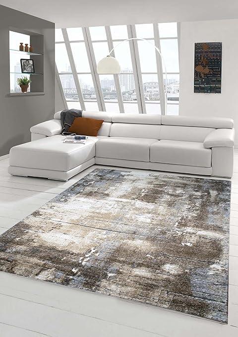 Designer Teppich Moderner Teppich Wohnzimmer Teppich Barock Design Steinmauer Optik In Braun Beige Grau Creme Meliert Grosse 80x150 Cm Amazon De Kuche Haushalt
