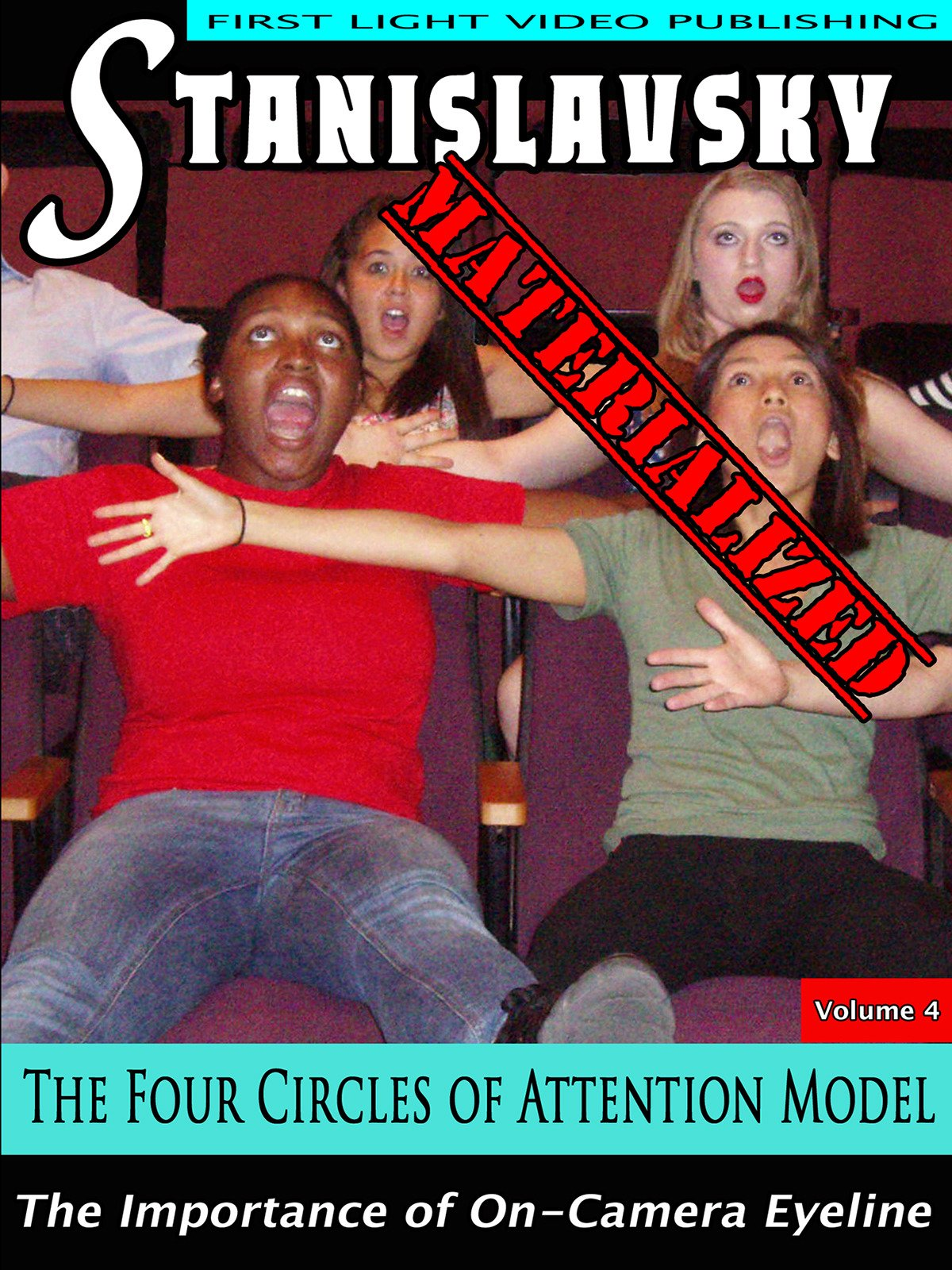 The Four Circles of Attention Model on Amazon Prime Video UK