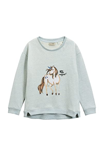 next Niña Júnior Jersey Unicornio Blusa Top Mangas Largas