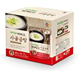bibigo Korean Beef Bone Broth Soup, Ready-to-Eat, 17.7 Ounce (6-Pack)