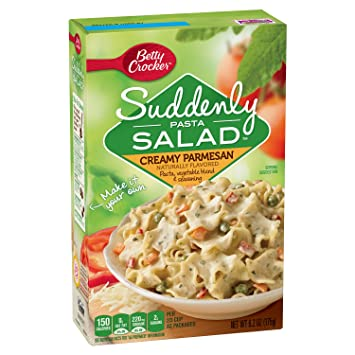 Amazon.com: Betty Crocker Suddenly Salad, Creamy Parmesan Pasta ...