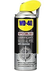 WD-40 Specialist - Lubrificante Spray Secco al PTFE Anti Frizione con Sistema Doppia Posizione - 400 ml