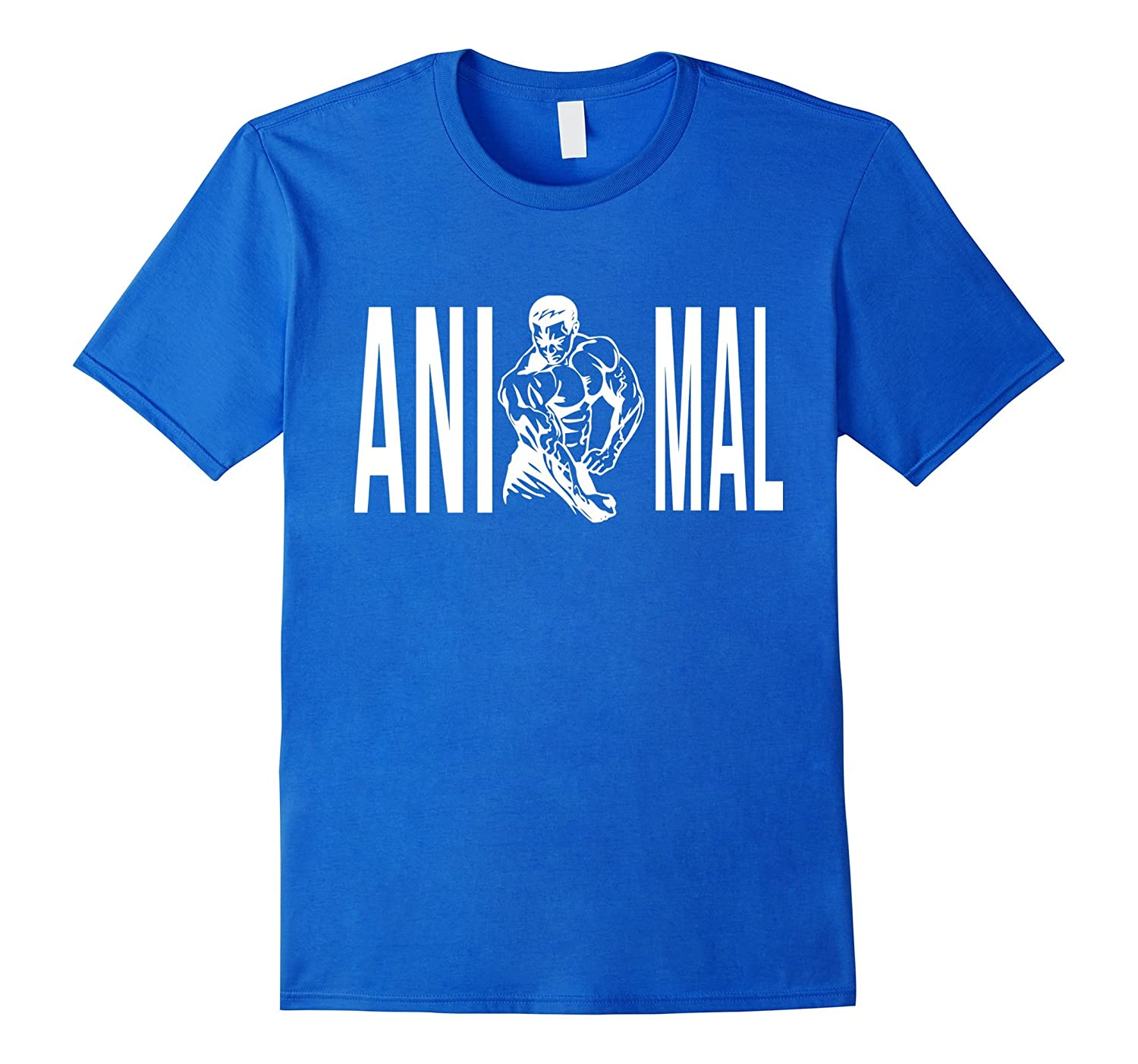 Gym Animal T-Shirt  Gift Shirt for Bodybuilder-TD