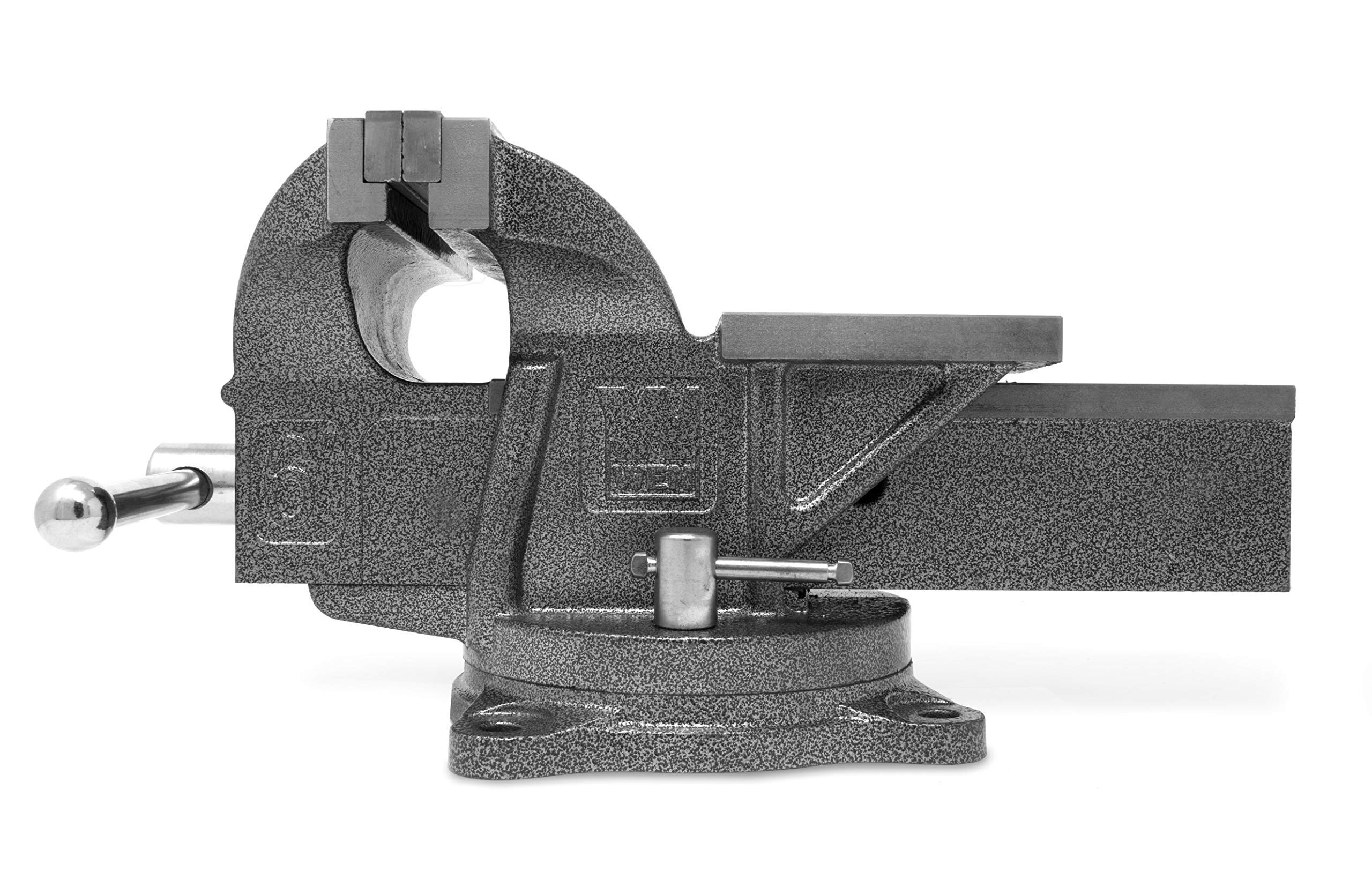 WEN 456BV 6-Inch Heavy Duty Cast Iron Bench Vise with Swivel Base (Renewed) by WEN (Image #3)