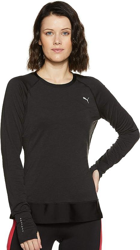 PUMA Damen LS Winter Tee W T Shirt: : Bekleidung