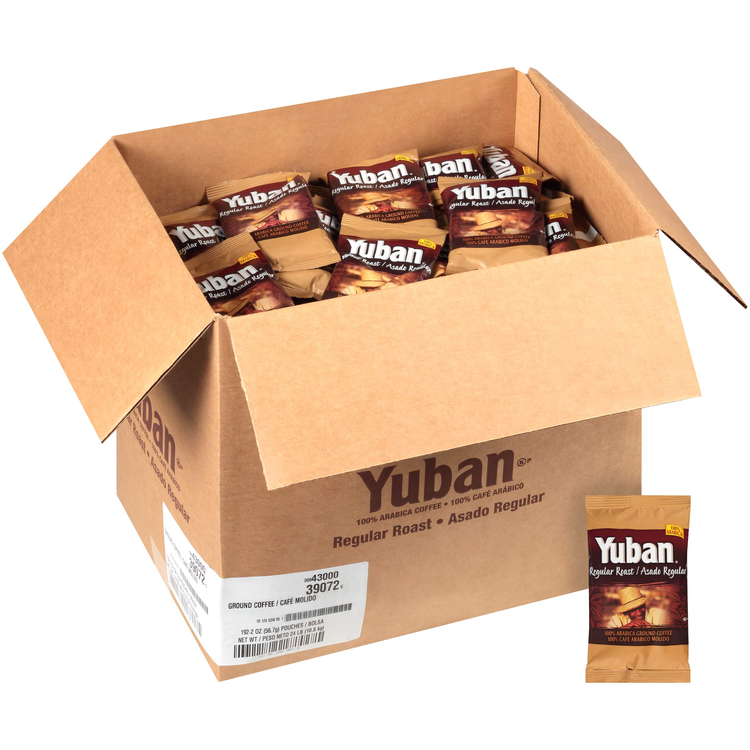 Yuban Regular Ground Coffee (2oz Bags, Pack of 192) by Yuban (Image #3)