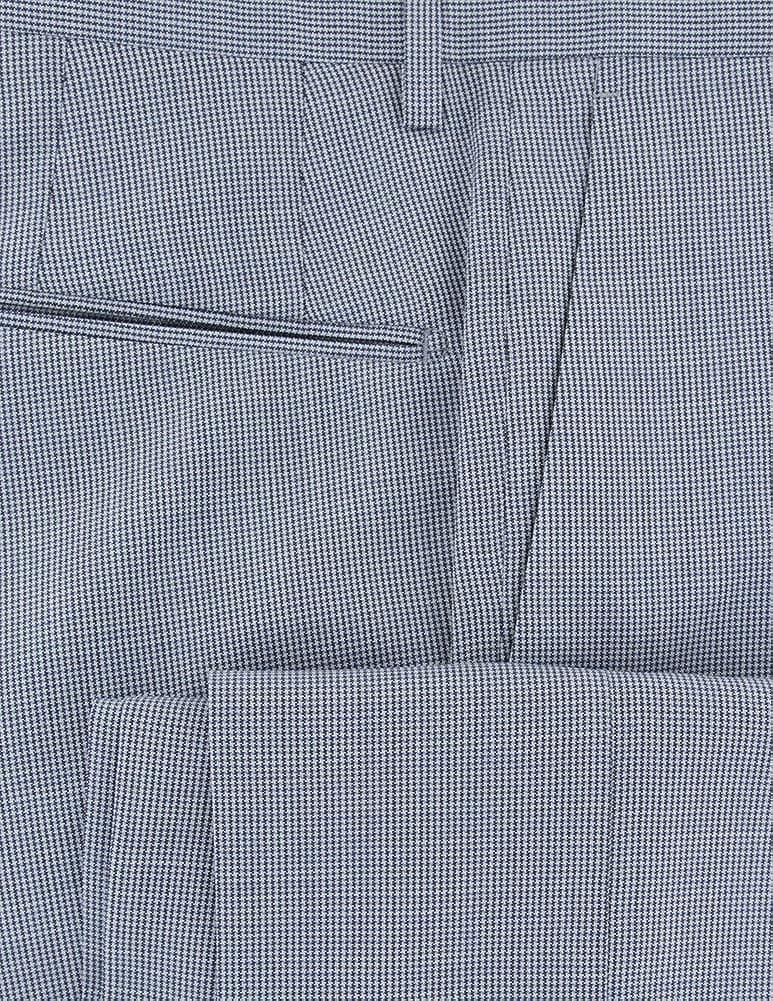 Incotex Dark Blue Micro-Houndstooth Wool Pants - Slim at  Men's Clothing store