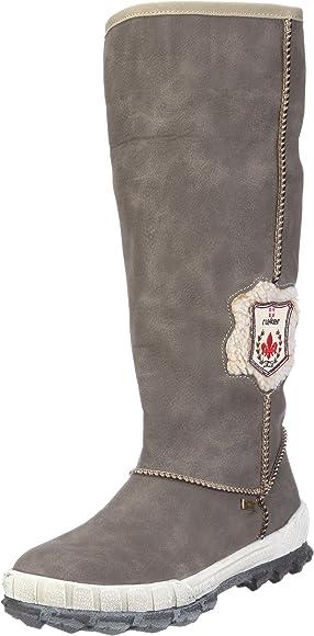 Rieker Fenja Y2453 42, Damen Stiefel, Braun (dustbeige 42 lHRmO
