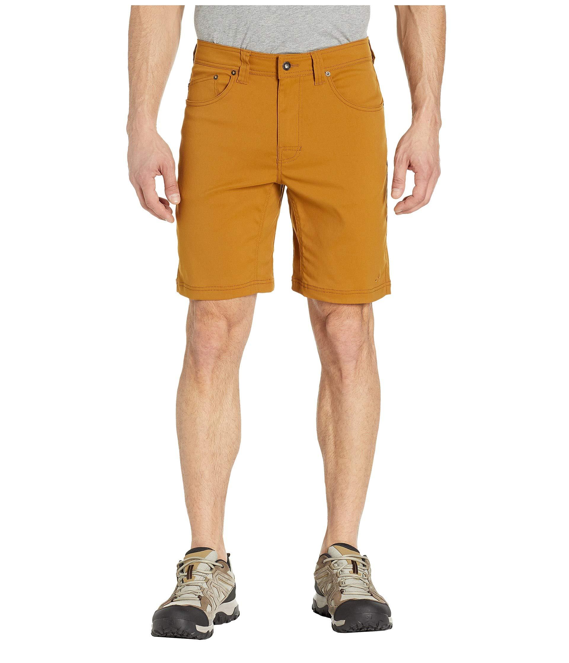 prAna Men's Brion Shorts, Bronze, 28W 9L