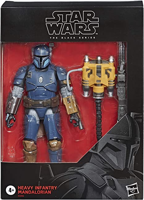 Deluxe Heavy Infantry Mandalorian Black Series Hasbro Star Wars