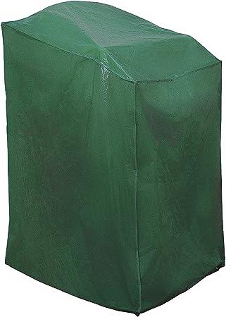 Rayen 6381.10 - Funda de Polietileno para sillas de jardín, 68 x 68 x 110 centímetros, Color Verde: Amazon.es: Jardín