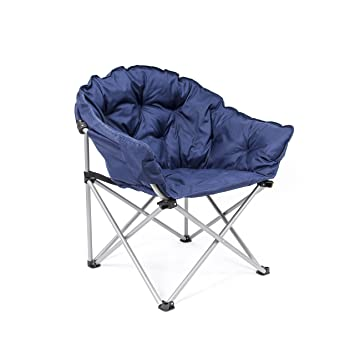 Exceptional Deluxe XL Outdoor Club Chair In Navy Blue