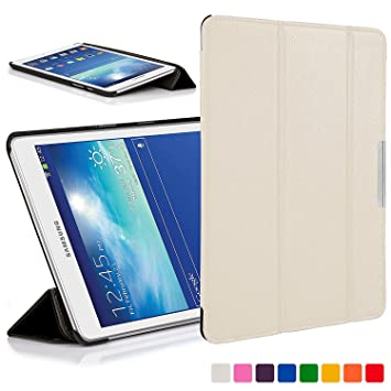 Forefront Cases Funda para Samsung Galaxy Tab 3 Lite 7.0 Funda Carcasa Stand Case Cover – Ultra Delgado Ligera y Protección Completa del Dispositivo ...