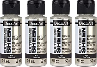 product image for DecoArt 2 Ounce, Pearl Extreme Sheen Paint (Fоur Paсk)