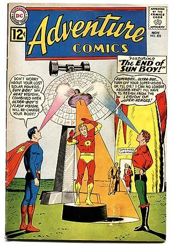 Amazoncom Adventure Comics 302 1962 Superboy Sun Boy Silver Age