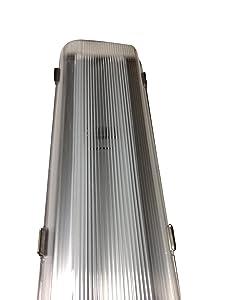 LED 4' ft. Vapor Tight Proof Walk in Freezer Cooler Light Fixture 48 Watt -40F Degree by PrimeLights
