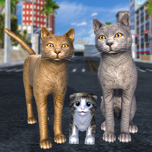 Amazon Com Cat Family Simulator Stray Cute Kitty Game Appstore For Android