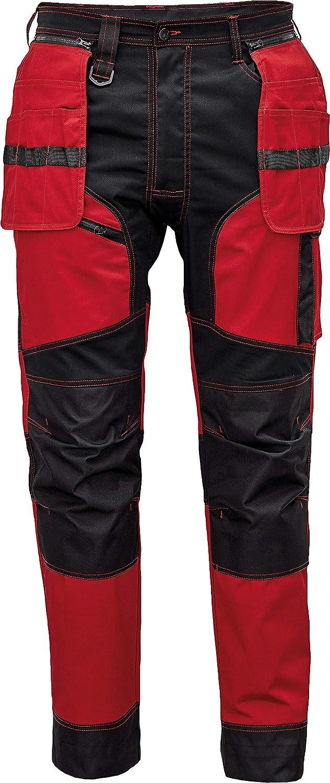 Plusieurs Couleurs DINOZAVR Keilor Pantalon de Travail pour Homme avec Poches Genouill/ères et Ceinture /Élastiqu/ée