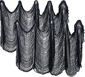 40 Inches x 320 Inches Halloween Creepy Cloth Decoration,Spooky Halloween Decorations Outdoor Party Supplies Décor for Halloween Party Supplies Decorations