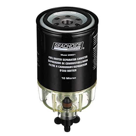 Amazon.com : SeaChoice 20931 Outboard Engine Fuel/Water Separating