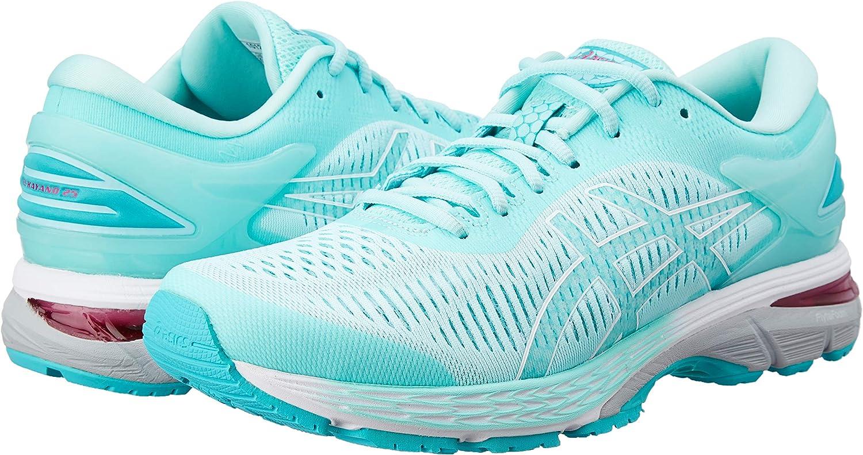 Asics Gel-Kayano 25 - Zapatillas de Running para Mujer, 1012A026.402, Hellblau/Beige, 40.5 EU - UK - 9 US: Amazon.es: Deportes y aire libre