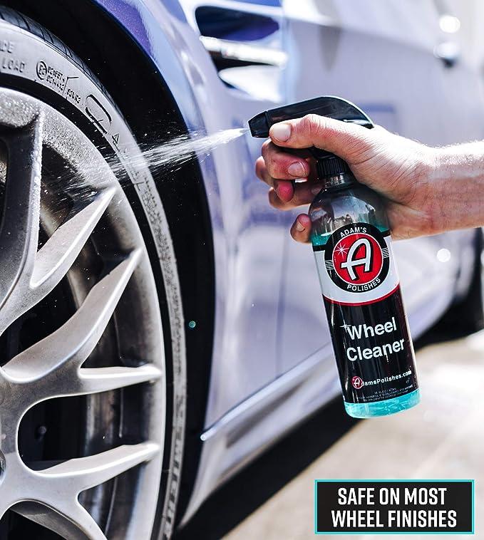 Amazon.com: Adams Deep Wheel Cleaner - Tough on Brake Dust, Gentle On Wheels - Changes Color As It Works (5 Gallon): Automotive