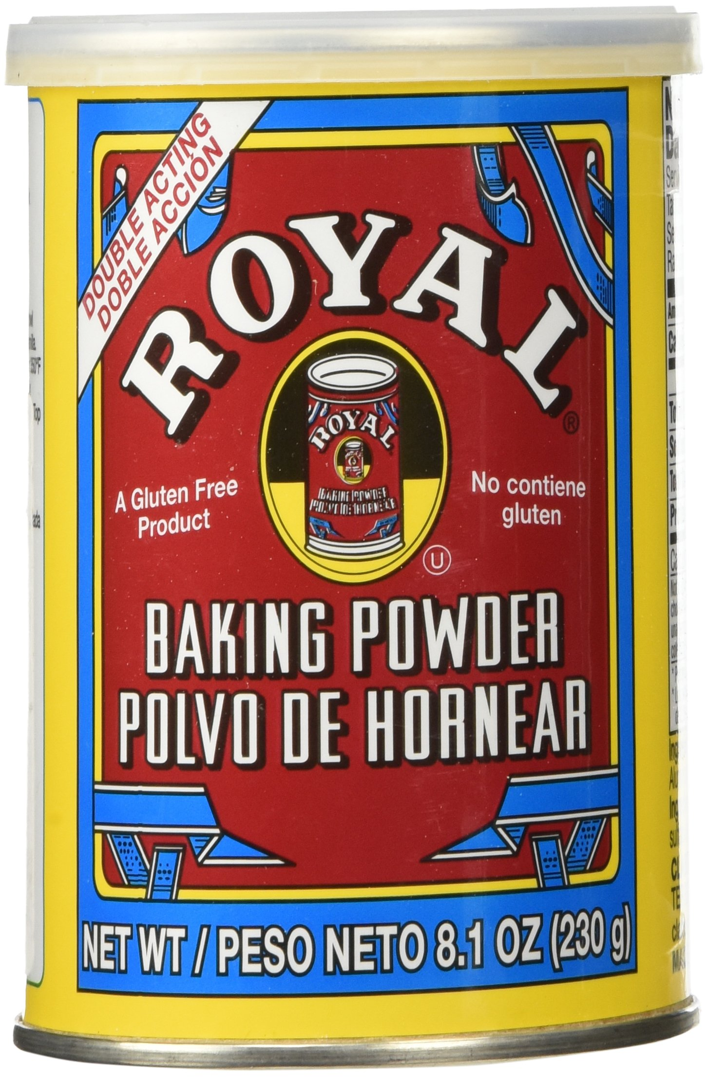 Royal Baking Powder, 8.1 Ounce