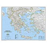 Greece Classic, tubed : Wall Maps Countries & Regions: NG.P622111 (Reference - Countries & Regions)
