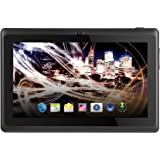 Arena arrenaquad7bk tableta táctil de 7(17,78cm) (8GB, Android, 2puertos USB 3.0, 1toma jack, Negro)