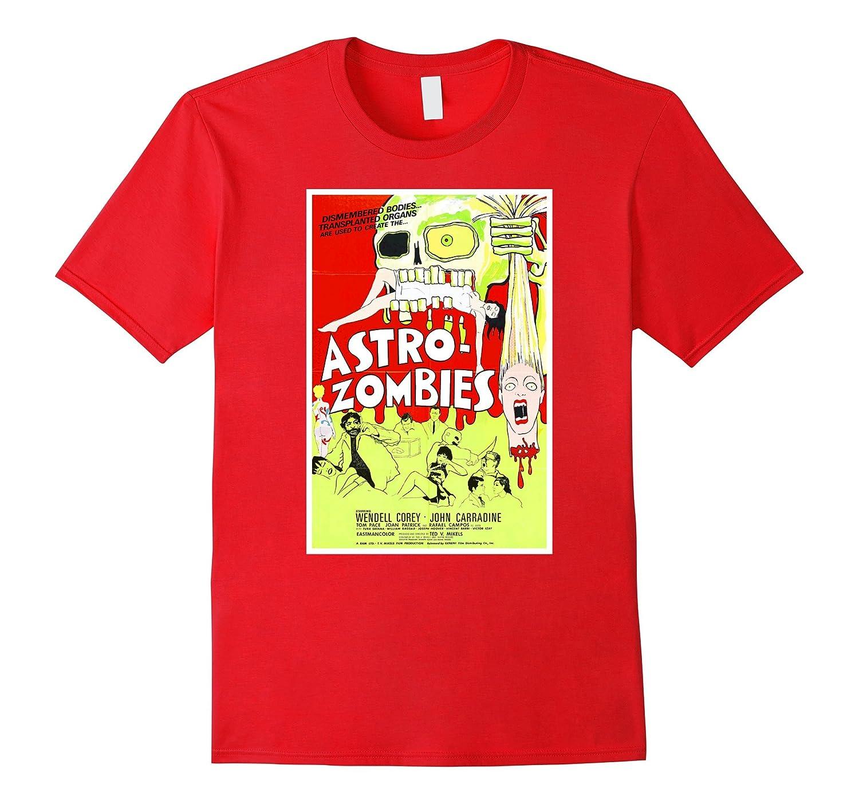 Astro Zombies Halloween T-Shirt Horror Sci Fi Gift Tee Shirt-TJ