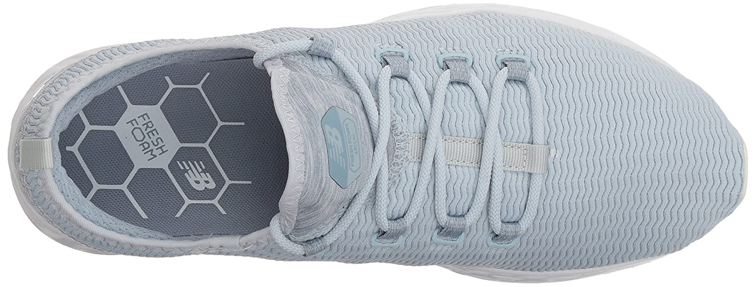 New Balance Women's Fresh Foam Arishi V1 Running Shoe B071NV19JV 9.5 D US|Light Porcelain Blue