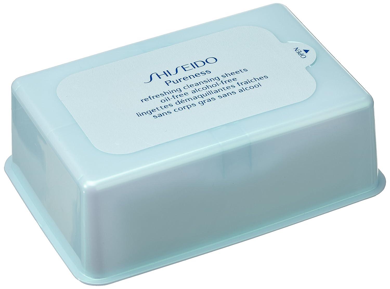 Shiseido Pureness Toallitas Limpiadoras - 100 Unidades: Amazon.es: Belleza