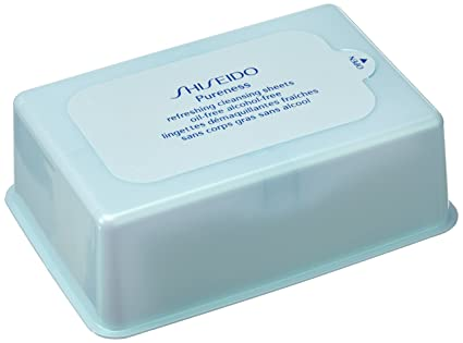 Shiseido Pureness Toallitas Limpiadoras - 100 Unidades