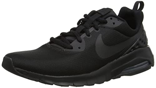Nike Boys' Air Max Motion Low (GS) Trainers, Black (Black/