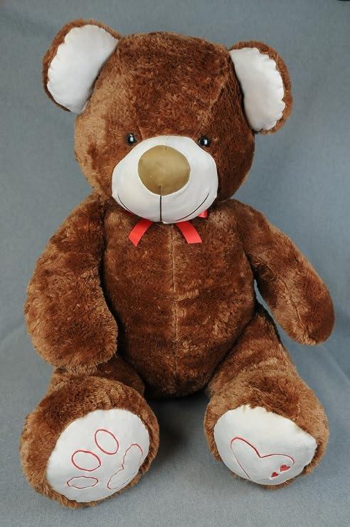 Oso de peluche XXL 135 cm fortuna osito de peluche osito suave peluche oso amoroso Bol