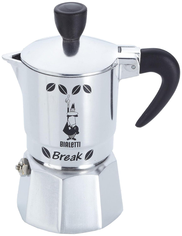 Break schwarz 1 - Cafetera italiana de aluminio con capacidad para ...