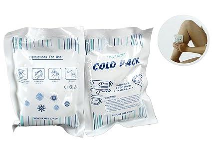10 DKB compresas de frío instantáneo nevera compresa Sport ...