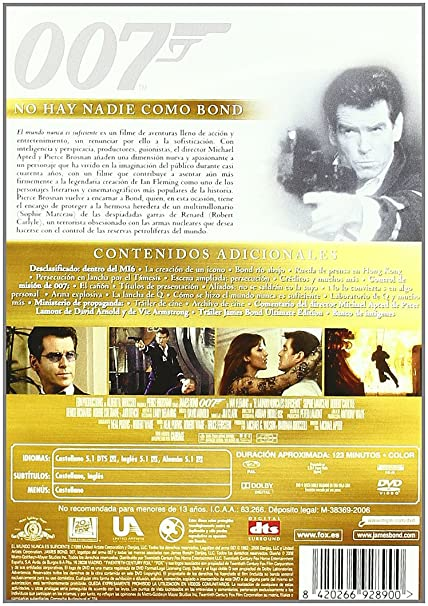Amazon.com: Pack James Bond Pierce Brosnan [Import espagnol]: Movies & TV