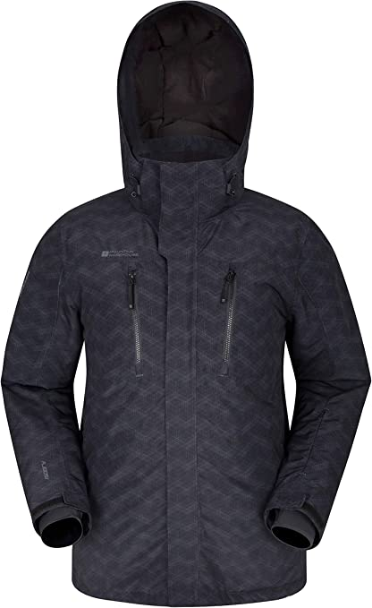 Veste de Ski Imprimée Homme Shadow | Mountain Warehouse FR