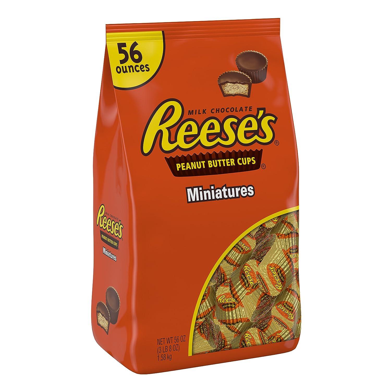Reeses Peanut Butter Cup Miniatures, 56 Ounce: Amazon.es: Alimentación y bebidas