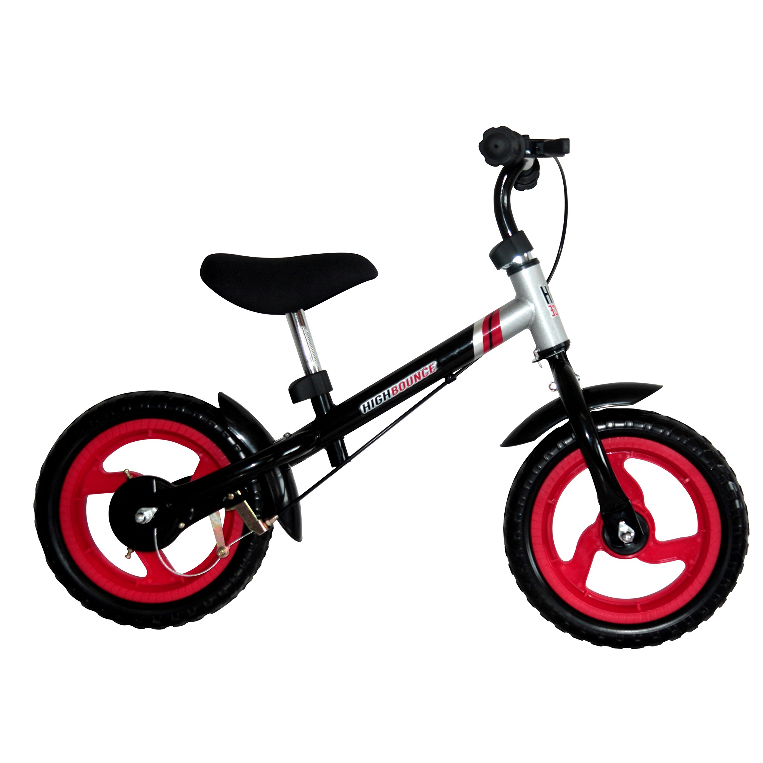 High Bounce Balance Bike Adjustable from 11''-16'' (Red)