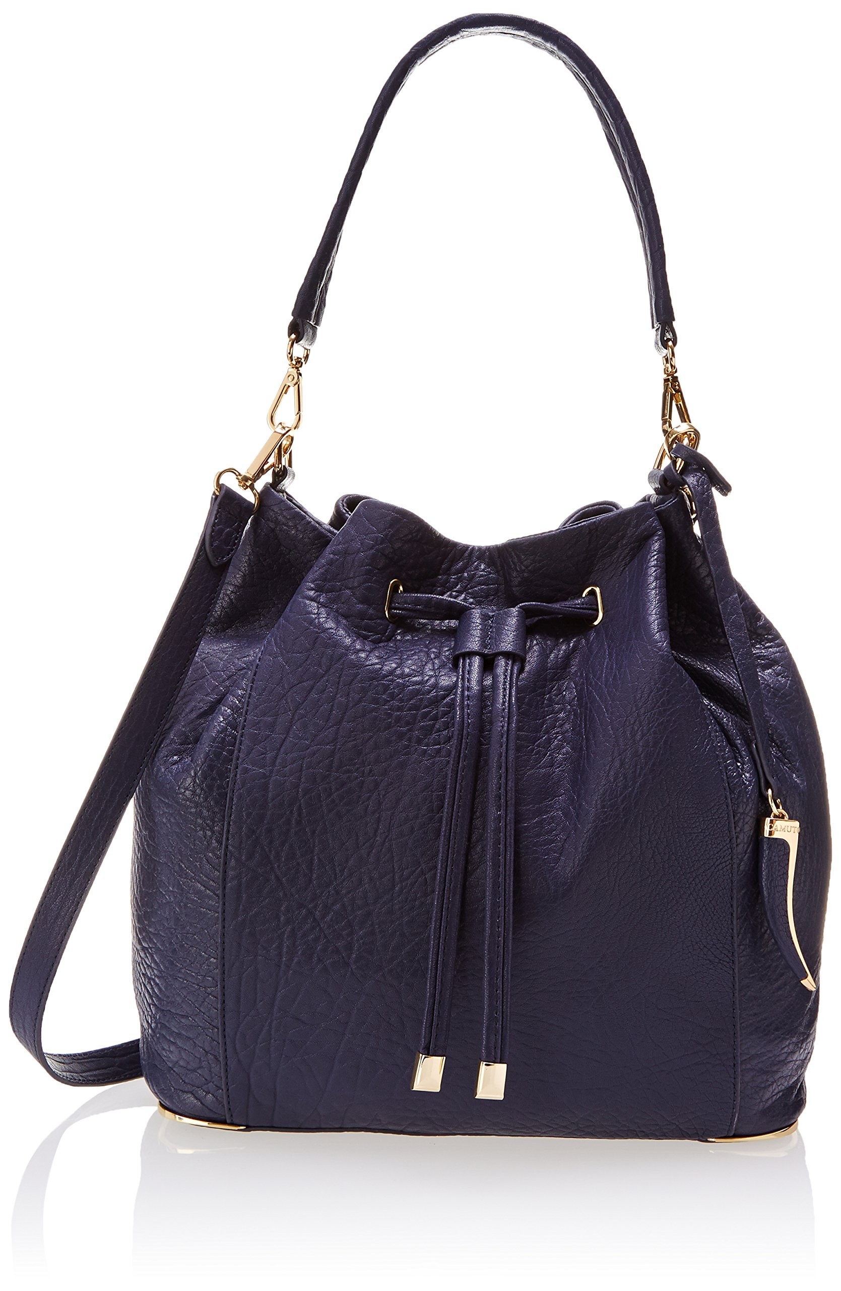 Vince Camuto Knox Drawstring Shoulder Bag,Peacoat,One Size,Peacoat,One Size