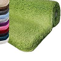 casa pura Badematte | Kuscheliger Hochflor | Rutschfester Badvorleger | viele Größen |zum Set kombinierbar | Öko-Tex 100 Zertifiziert | viele Trendfarben zur Auswahl