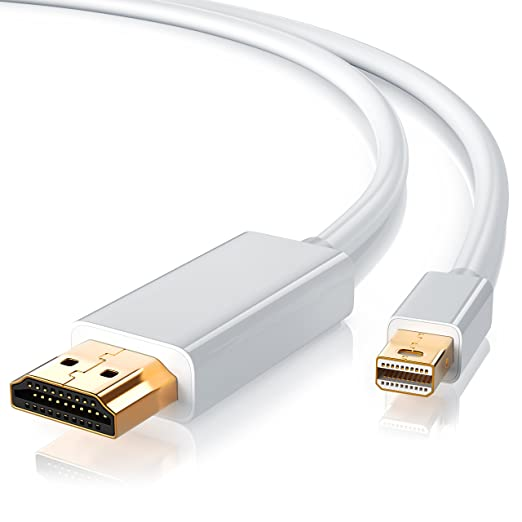 901 opinioni per CSL- 2m Full HD Mini Displayport su cavo HDMI | miniDP su HDMI | Full HD 1080p |