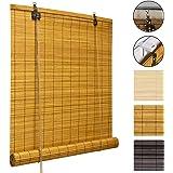 Amazon De Victoria M Bambus Raffrollo 100 X 160cm In Natur