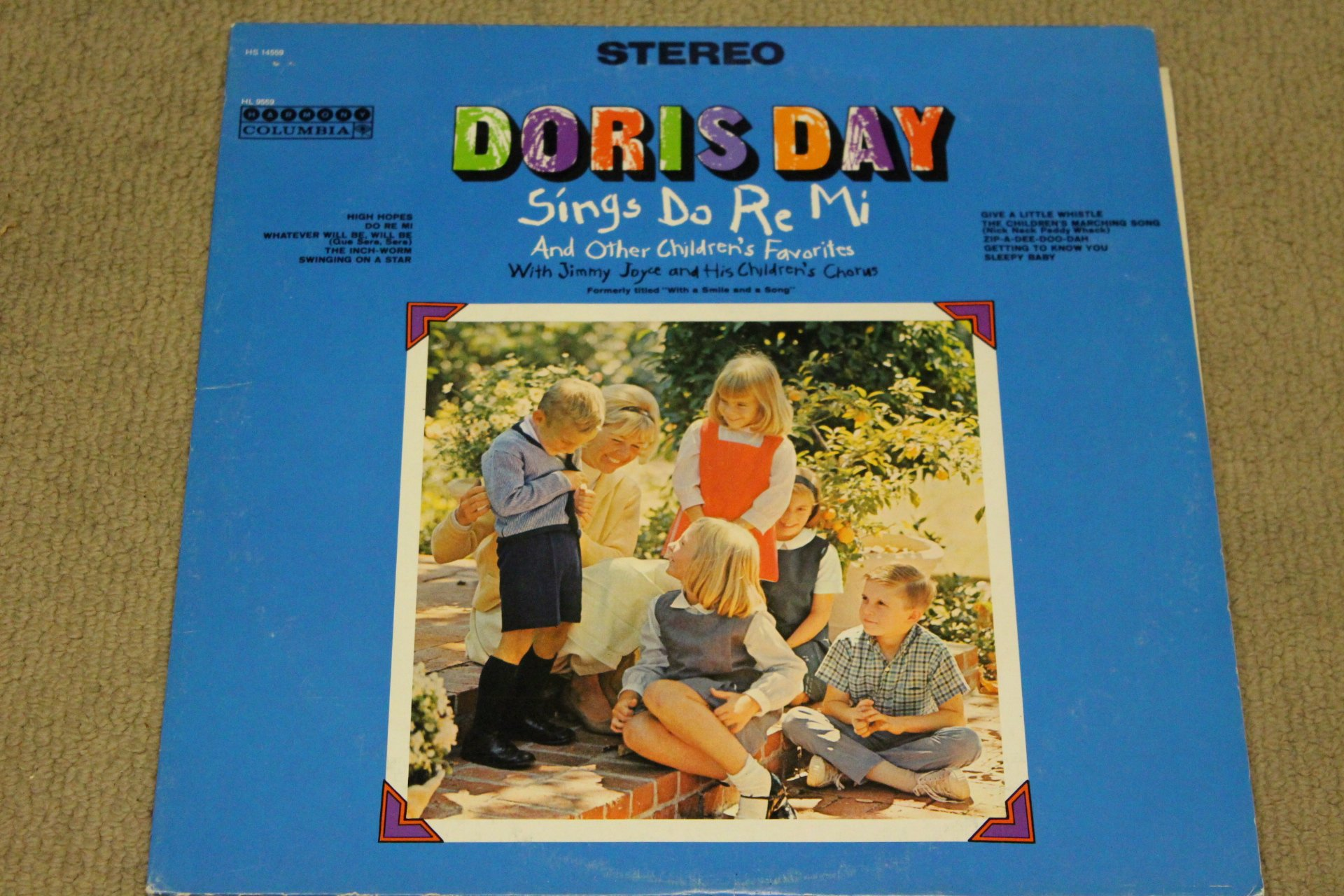 Doris Day: Sings Do Re Mi And Other Children's Favorites [VINYL LP] [STEREO]